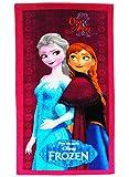 Unbekannt Badetuch -  die Eiskönigin / Disney Frozen  - 70 cm * 140 cm Handtuch - Strandtuch - 100 % Baumwolle - Mädchen 70x140 für Kinder - Erwachsene Badehandtuch -..