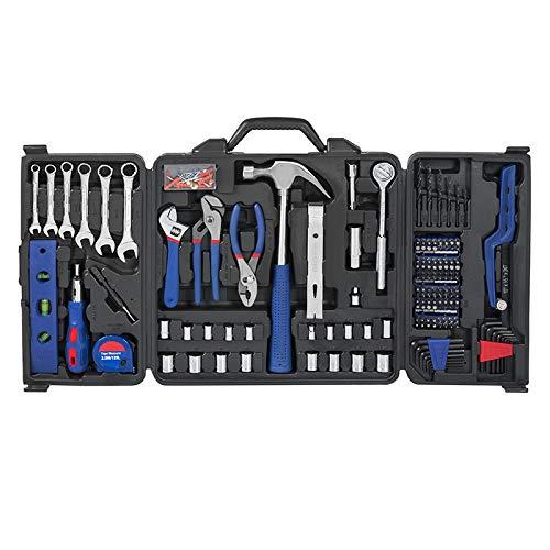 EDFDJED 201PC Tool Set Home Instruments Handwerkzeuge Sockel Set Ratschenschlüssel Zangen -