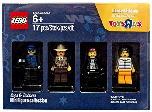 Preisvergleich Produktbild LEGO® Minifigure collection 5004574 - Cops & Robbers, Limited Edition