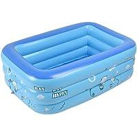Aolvo Aufblasbares Schwimmbecken für Kinder Baby, Family Pool Schwimmbad Swimmingpool Planschbecken