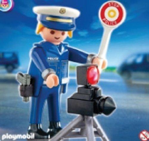 Playmobil - 4902 Poliziotto e (2010 Radar)