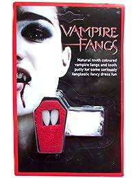 Gothic Horror Twilight Dracula Fancy Dress Reusable Natural Vampire Fangs Teeth