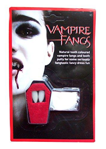 Nur Kostüm Ein Biss - (Vampire Teeth) Kostüm wiederverwendbare Vampirzähne