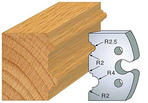 Preisvergleich Produktbild 211: Spiel 2-Eisen Astragalus HT 50 mm für Porte Outils entr' Achse Gummiknopf 24 mm