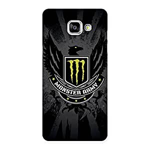 Special Army M Multicolor Back Case Cover for Galaxy A5 2016
