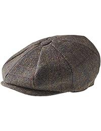 1ef4e36e2eb Peaky Blinders 8 Piece  Newsboy  Style Flat Cap -100% Wool Fabric Variations