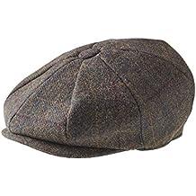 Peaky Blinders - Gorra Gatsby de 8piezas, 100% lana, estilo chico repartidor de periódicos