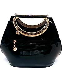 Purse Collection Elegance Women's Synthetic Leather(PU) Black Handbag & Purse/girls Purse/girls Purses Stylish...