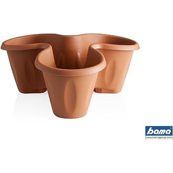Coubi vaso pensile a trifoglio per piante erbe aromatiche for Portavaso pensile