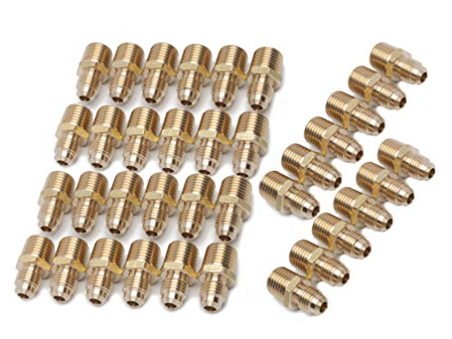 LTWFITTING Generic Messing 45Grad Flare Verbinder Tube Fitting Flare Fitting
