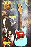 RGM805 Kurt Cobain Nirvana Miniature Guitar Collection in Shadowbox Frame