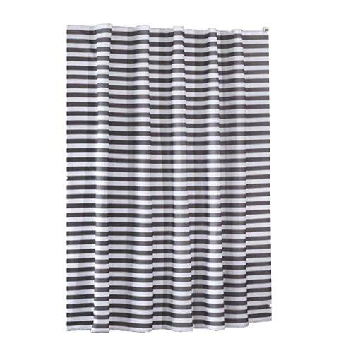 Streifen Druck Duschvorhang Badezimmer Wasserdicht Polyester Stoff 150 * 180cm (59.05x70.86-in) , 300*200cm