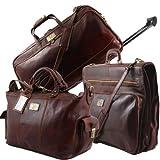 2 - Juego de maletas, marrón (Marrón) - TL141078-Marrone