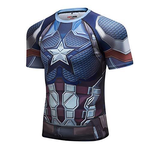 ZCYTIM 3D gedruckt t Shirts Quantum Krieg Kompression Hemd Cosplay kostüm Tops für männer