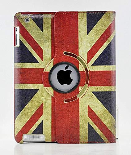 iPad Pro Case, livitech (TM) 360Grad PU Leder Vintage USA/UK Großbritannien Flagge Style Smart Cover für Apple iPad Pro 12,9 U.K. 12.9 Flagge Cover