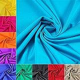 maDDma  Stretch-Stoff für Tanz-, Sport- und Bademoden 152cm breit, Meterware, Farbwahl, Farbe:türkis