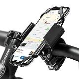 widras Fahrrad- und Motorrad Handy Halterung 2nd Generation | Fahrrad Halterung für iPhone 7| 6S 5S plus | Samsung Galaxy S5S6S7S8Note oder jedem Smartphone & gps| Mountain & Road Fahrrad Lenker Wiege