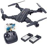 Smatree L603 Drone Quadricoptère Portable avec Caméra 720p HD Vidéo WiFi 2.4GHz 6-Axis Gyro Fontion Maintien de l'Altitude, Retour Automatique, Mode Headless, Fonction de visée optique, Drone Pliable pour les Enfants et les Débutants