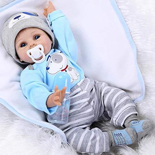 Reborn Muñecas bebé 22 Pulgadas Realista Muñecos Reborn Babys Doll ... d38313d9189