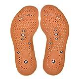 LXQGR 1 par de Plantillas magnéticas para Terapia magnética de Calzado para Hombre/Mujer Almohadillas cómodas Plantillas Transpirables para Zapatos