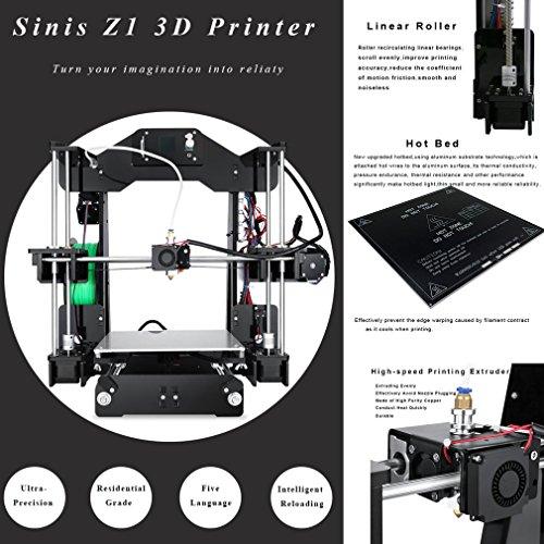 Ohholly Z1 3D Drucker Druckgröße Durable Hohe Genauigkeit 220x220x240mm - 3