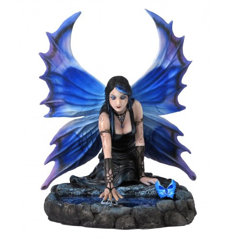 Anne Stokes `Immortal Flight` Fairy and Skull Statue by Things2Die4