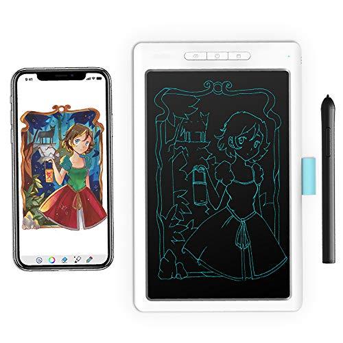 BESTSUGER LCD-Schreibtafeln, 10 Zoll LCD Schreibtafel, HD Digital Grafiktablett, Memo Message Board Kunst für Kinder Schule Coffee Shop Küche