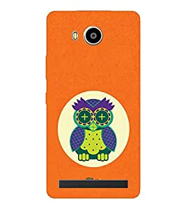 EPICCASE fashion owl Mobile Back Case Cover For LENOVO A7700 (Designer Case)