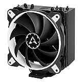 ARCTIC Freezer 33 eSports ONE - Tower CPU Luftkühler mit 120 mm PWM Prozessorlüfter für Intel und AMD Sockel - für CPUs bis 200 Watt TDP - Leiser und Effizienter Cooler (Weiss)