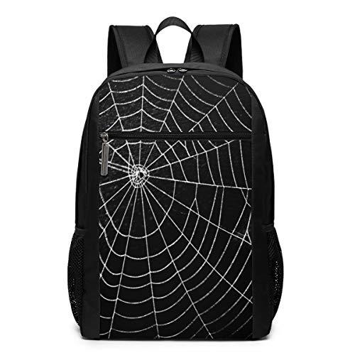 PecoStar Rucksack Spider Web Schule Büchertasche Schultertasche Laptop Rucksack Daypack, Schwarz (Schwarz) - Sleusjh-Eldjr-44967517 (Spider-tagebuch)