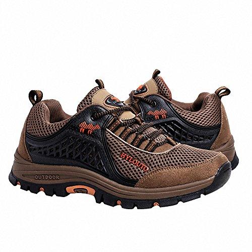 Ben Sports Trekking Wanderhalbschuhe Wanderstiefel Sportschuhe Schuhe Herren,37-47 Braun