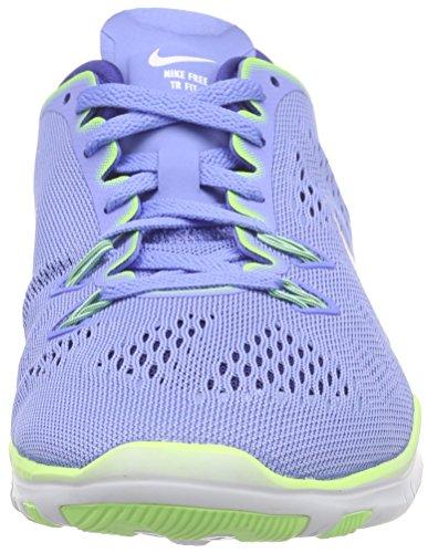 Nike Damen Wmns Free 5.0 TR Fit 5 Hallenschuhe Blau (Blau/Grau)