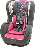 Osann Kinderautositz Cosmo SP Corail Framboise pink rosa, 0 bis 18 kg, ECE Gruppe 0 / 1, von Geburt bis ca. 4 Jahre, reboard bis 10 kg nutzbar