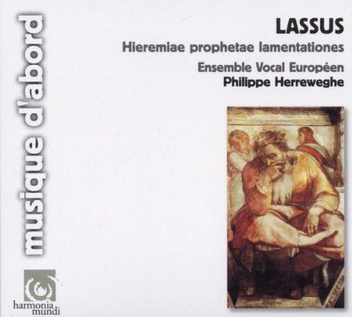 Lassus : Hieremiae prophetae lamentationes (Lamentations du prophète Jérémie)