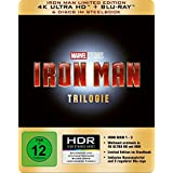 Iron Man-Trilogie Steelbook (4K Ultra HD) [Blu-ray] [Edizione: Germania]