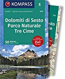KOMPASS guida escursionistica Dolomiti di Sesto, Parco Naturale Tre Cime, italienische Ausgabe: Wanderführer mit Extra-Tourenkarte 1:50.000, 50 Touren, GPX-Daten zum Download. Italienische Ausgabe.