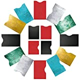 FreeHaveFun® RFID Schutzhüllen NFC Blocker (16 Stück) 100% RFID Schutz vorm Auslesen | 12 RIFD Hüllen für Kreditkarten Personalausweis + 4 x Reisepass NFC Blocking Schutzhülle