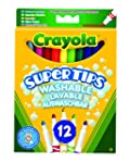 Crayola 03.7509DM - 12 Supertips Filz...