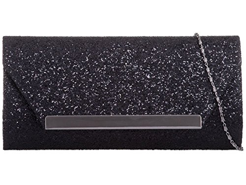Royal Clutch Hautefordiva schwarz Damen M q4EwE7