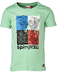 lego wear ninjago t shirt tony spinjitzu manches courtes