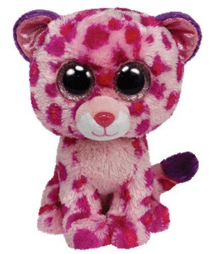 "Beanie Boo Leopard - Glamour - Pink - 24cm 9"""