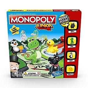 Hasbro Gaming Monopoly - Junior, edición para niños