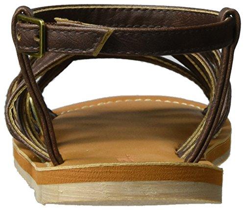 O'Neill - Fw Braided, Scarpe con cinturino Donna Braun (Fudge Sikle)
