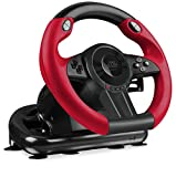 Speedlink TRAILBLAZER Racing Wheel for Xbox One/PS4/PS3/PC - Volante per giochi (Vibrazione, 12 tasti), nero