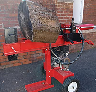 Purchase your HEAVY DUTY 22 TON PETROL LOG SPLITTER HYDRAULIC 4 WAY CUTTER TOWABLE 6.5hp from Log Burning Essentials