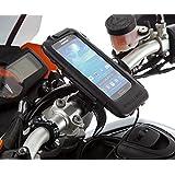Ultimate Addons Motorrad-Halterung für Samsung Galaxy S4, mit wasserfester Schutzhülle + Kabel