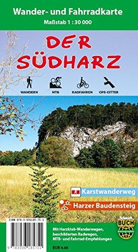 Preisvergleich Produktbild Der Südharz: Wander- und Fahrradkarte