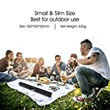 Soundbar, GooDee 2.0 Channel Speaker for TV Sound bar 22 Inch Wired & Wireless Bluetooth Speaker with Built-in Batteries, Best for Indoor Outdoor Use