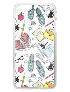 iPhone 6S Cases & Covers - Missing My School Days - Back To School - Designer Printed Hard Shell Transparent Sides