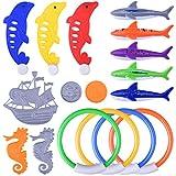 Juguetes de Piscina para Niños de Buceo Natación Subacuática Juego de Regalo Paquete BG001